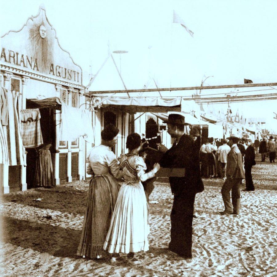 1915 , de la playa de las Arenas